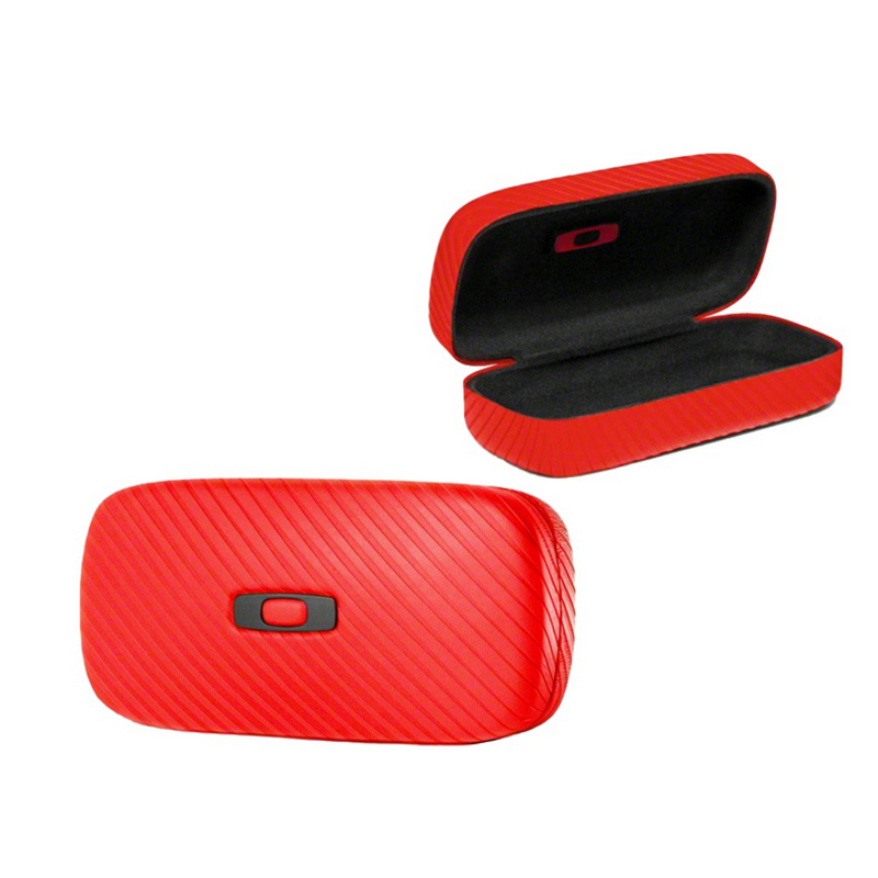 Oakley Sunglass Case  oakley tomato red square o hard sunglass case