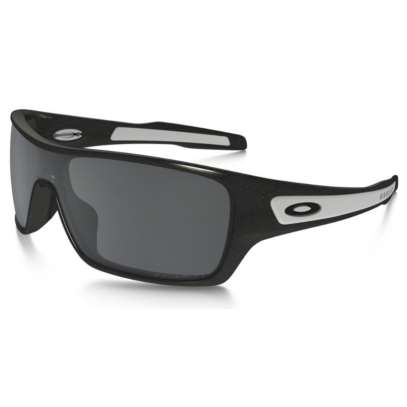 oakley turbine black iridium polarized