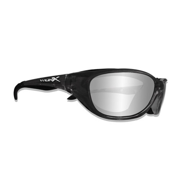 Wiley X Airrage Crystal Metallic / Polarized Silver Flash