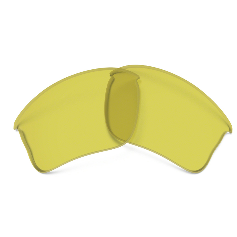 55d6c115ad Oakley Flak Jacket XLJ Yellow Replacement Lens
