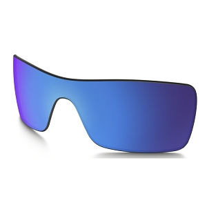 Oakley Batwolf Sapphire Iridium Replacement Lens