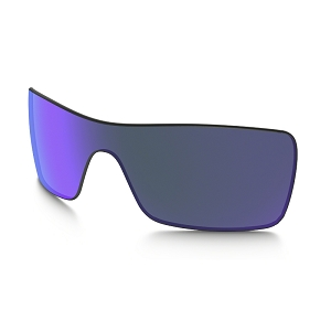 Oakley Batwolf Violet Iridium Replacement Lens