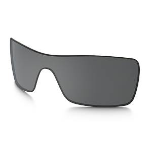 Oakley Batwolf Black Iridium Replacement Lens