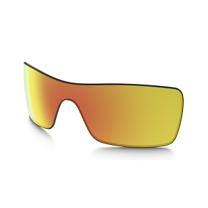 Oakley Batwolf Fire Iridium Replacement Lens