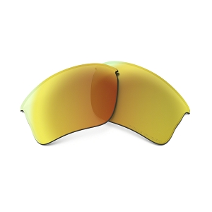 Oakley Flak Jacket XLJ Fire Iridium Polarized Replacement Lens