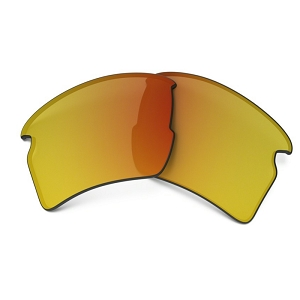 Oakley Flak 2.0 XL Fire Iridium Replacement Lens