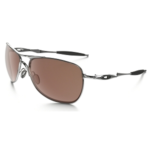Oakley Crosshair Chrome / VR28 Black Iridium