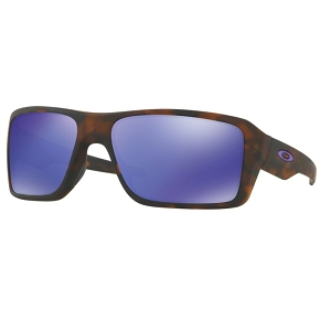 Oakley Double Edge Matte Black Tortoise / Violet Iridium