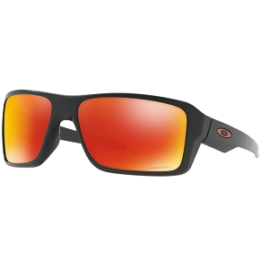 Oakley Double Edge Matte Black / Prizm Ruby Polarized