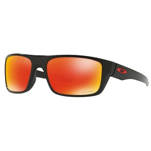 Oakley Drop Point Polished Black / Prizm Ruby