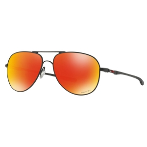 Oakley Elmont Medium Satin Black / Prizm Ruby