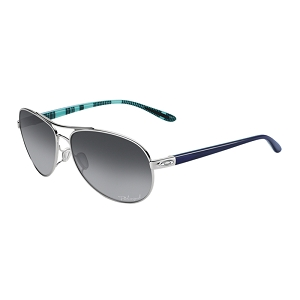 Oakley Feedback Polished Chrome / Grey Gradient Polarized
