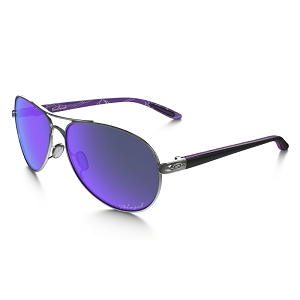 Oakley Feedback Violet Haze Collection Polished Chrome / Violet Iridium Polarized