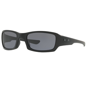 Oakley Standard Issue Fives Squared Matte Black with Tonal Flag / Grey