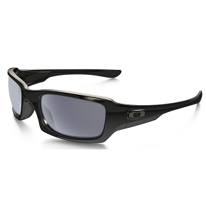 Oakley Fives Squared Polished Black / Grey