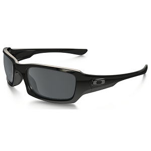 Oakley Fives Squared Polished Black / Black Iridium Polarized