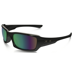 Oakley Fives Squared Polished Black / Prizm Fresh Water Polarized