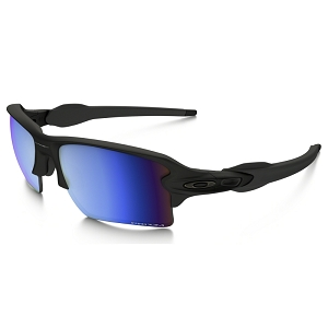 Oakley Flak 2.0 XL Matte Black / Prizm Deep Water Polarized