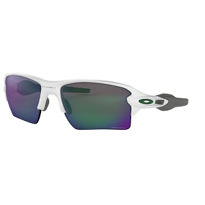 Oakley Flak 2.0 XL Polished White / Prizm Jade