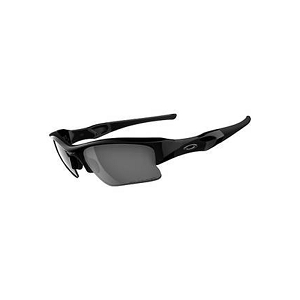 Oakley Flak Jacket XLJ Jet Black / Black Iridium Polarized