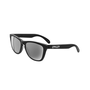 Oakley Frogskins Polished Black / Grey