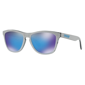 Oakley Frogskins Checkbox Collection Checkbox Silver / Prizm Sapphire
