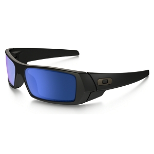 Oakley Gascan Matte Black / Ice Iridium Polarized