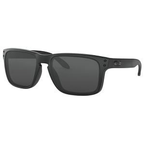 Oakley Standard Issue Holbrook Matte Black with Tonal Flag / Grey