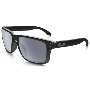 Oakley Holbrook Polished Black / Grey Polarized