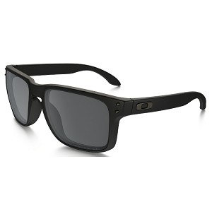 Oakley Holbrook Matte Black / Black Iridium Polarized