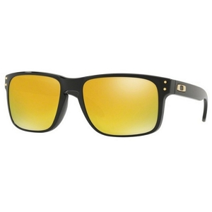 Oakley Holbrook Polished Black / 24K Iridium