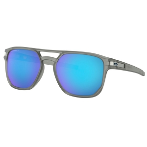 Oakley Latch Beta Matte Grey Ink / Prizm Sapphire Polarized