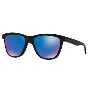 Oakley Moonlighter Matte Black / Sapphire Iridium Polarized