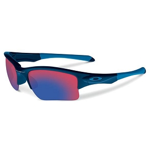 Oakley Quarter Jacket Polished Navy / Positive Red Iridium