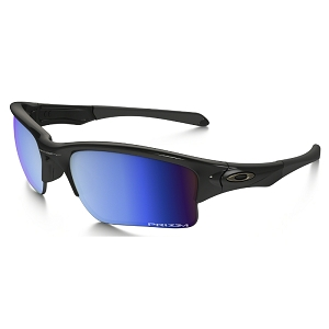Oakley Quarter Jacket Polished Black / Prizm Deep Water Polarized