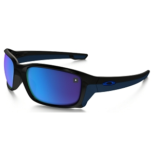 Oakley Straightlink Polished Black / Sapphire Iridium