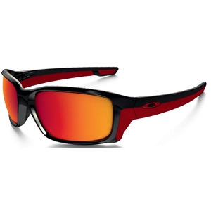Oakley Straightlink Polished Black / Torch Iridium Polarized