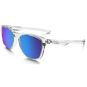 Oakley Trillbe X Polished Clear / Sapphire Iridium Polarized