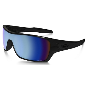 Oakley Turbine Rotor Polished Black / Prizm Deep Water Polarized