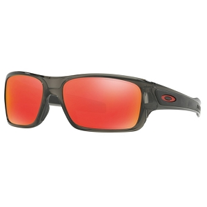Oakley Turbine XS (Youth Fit) Grey Smoke / Ruby Iridium