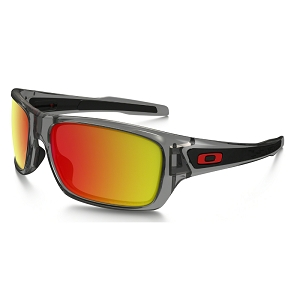 Oakley Turbine Grey Ink / Ruby Iridium Polarized