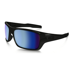 Oakley Turbine Polished Black / Prizm Deep Water Polarized