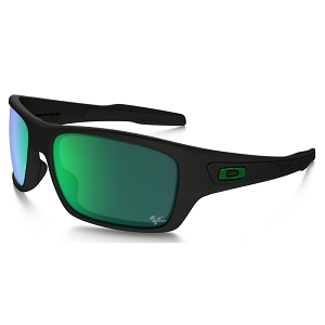 Oakley Turbine Moto GP Matte Black / Jade Iridium