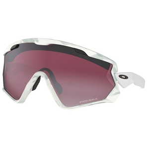 Oakley Wind Jacket 2.0 Snow Camo / Prizm Snow Black Iridium