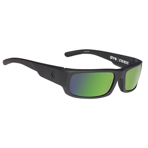 Spy Caliber Soft Matte Black / Happy Bronze Polarized with Green Spectra