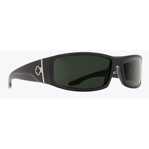 Spy Cooper Black / Happy Grey Green Polarized