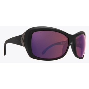 Spy Farrah Matte Black / Happy Rose Polarized with Midnight Spectra Mirror