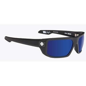 Spy McCoy Matte Black / Happy Bronze Polarized with Dark Blue Spectra