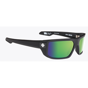 Spy McCoy Matte Black / Happy Bronze Polarized with Green Spectra