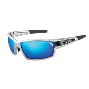 Tifosi Camrock Silver/Black / Clarion Blue, AC Red, Clear